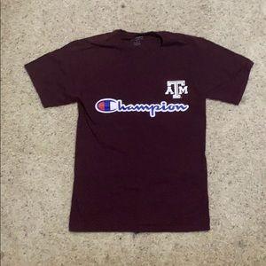 Champions x Texas A&M shirt